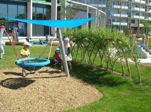 Kindertagesstätte Nordcampus - Freianlage