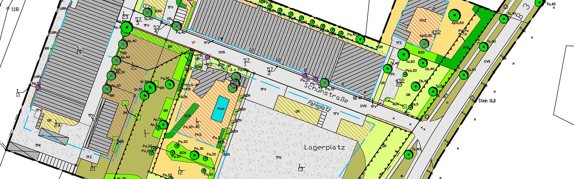 "Umweltbericht zur B-Planänderung ""Gewerbeflächen an der Schuhstraße"""